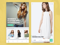 Woman Clothing eCommerce Mobile App