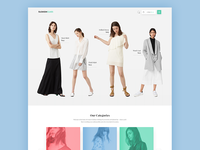 Woman Clothing eCommerce Web App