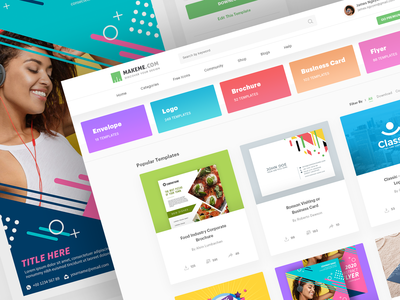 Branding Design Templates Portal