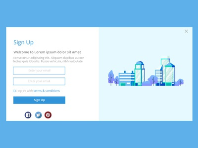 Daily UI - Sign Up Page
