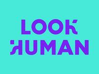 Look Human Rebrand Concept