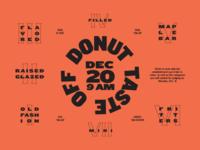 Donut Taste Off
