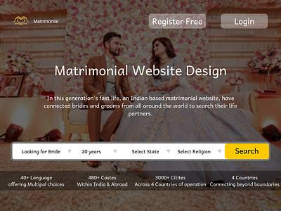 Matrimonial Website Design Company websitedevelopment branding ux ui logo design website designers website designing website designer website design services website design company