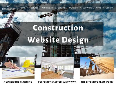 Construction Website Design Company websitedevelopment ux ui branding website design and development website design agency website designing