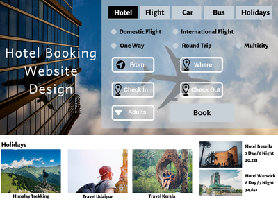 Hotel Booking Website Design Company designer designing website designer website designing website design agency website design services travel agency travelling website ux design branding ui websitedevelopment