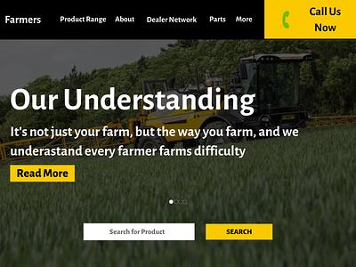 Farmer Website Designing Company ux ui websitedevelopment design designers website designers website designer website designing website designing company
