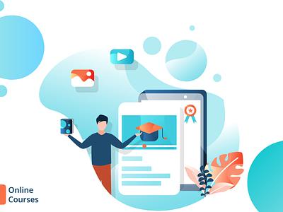 Online Courses App Designing Company appdevelopers appdesign applicationdesign application applicationdevelopment appdevelopment app design ux ui app design