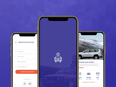 Car Selling Application