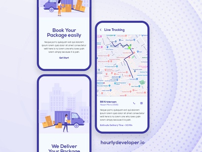 Courier Service App