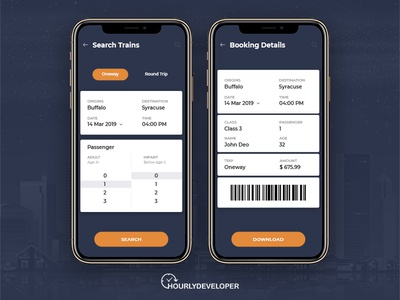 Train Ticket Booking