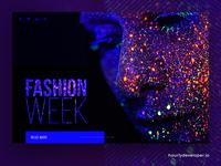 Glamorous Fashion Designer Website