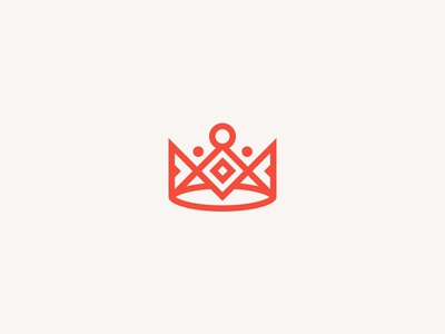 Crown branding identity logo logotype logomark crown