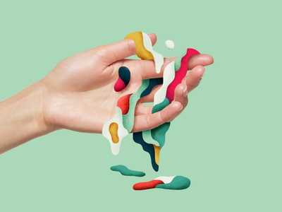 Can we eat it? graphicdesign creative art abstract artwork illustrator photoshop liquid color hand illustration