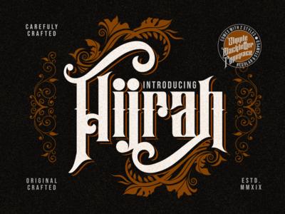 Hijrah - Blackletter Typeface