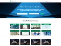 Glass.com Website Design