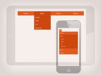 Drop-Down Navigation: Responsive And Touch Friendly