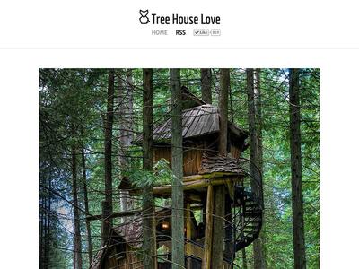 Tree House Love website