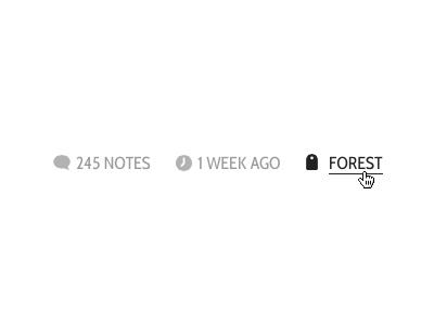 Treehouselove post icons