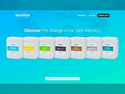 Easy Shine® responsive website