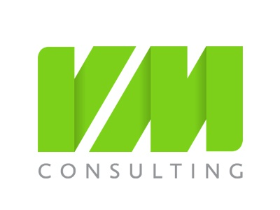Vm consulting logo by osvaldas valutis dribbble for Consulting company logo