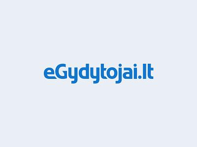 eGydytojai.lt logo identity branding lettering wordmark kerning typography logo egydytojai