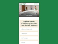 Lorna responsive website