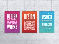 Design quote posters