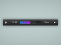 Responsive And Touch Friendly Audio Player