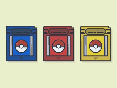 What is your favorite GameBoy game? pokemongo gameboy flat retro pokemon pokeball freebie squirtle charmander bulbasaur pikachu 90s