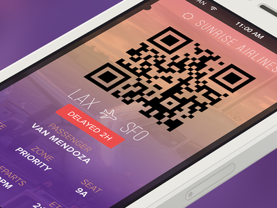 Mobile Boarding Pass - Yahoo!