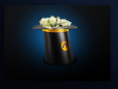 Money hat icon