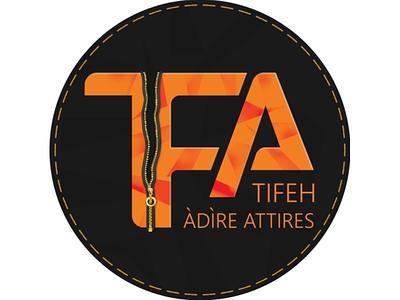 TIFEH ATTIRES LOGO branding logo logo design