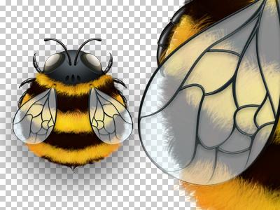 Blueui bee