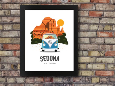 Sedona  Illustration