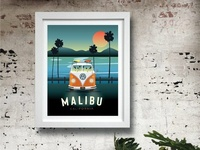 Malibu Poster