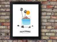 Palm Springs print