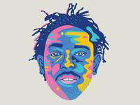 Don't Kill My Vibe (Kendrick Lamar Portrait)