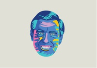 """Neighborhood"" Mr. Rogers Portrait"