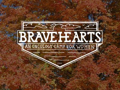 Breavehearts Dribbble lettering illustrator camp photoshop