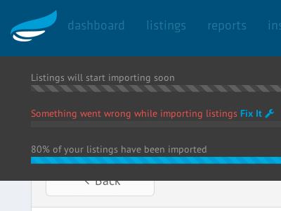 Import listings