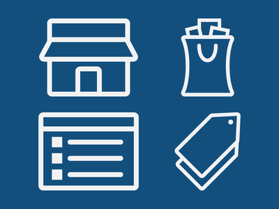 Appeagle Icons ecommerce icons