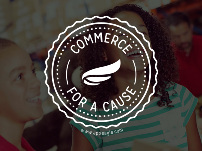 Commerce for a Cause stamp