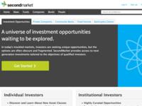 SecondMarket Marketing Page