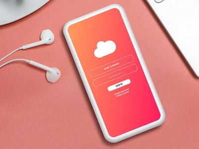 Cloudapp app ux ui design