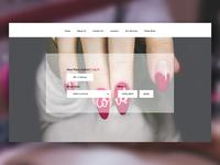 Nail Bar Website