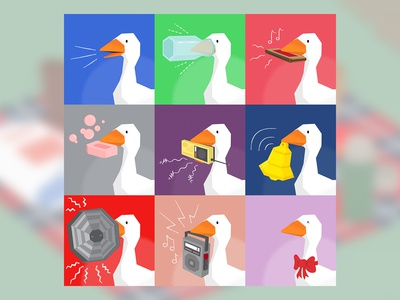 Untitled Goose Game Portraits