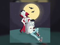 Dracula and His Son