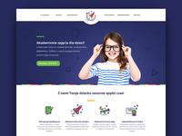Uniwersytet Dzieci - website