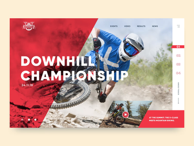 Downhill MTB timaking mtb extreme sports bicycle downhill bicycle ux web design interaction ui ux design ui  ux ui animation