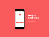 Daily Challenge, Day 1: Sign Up Page